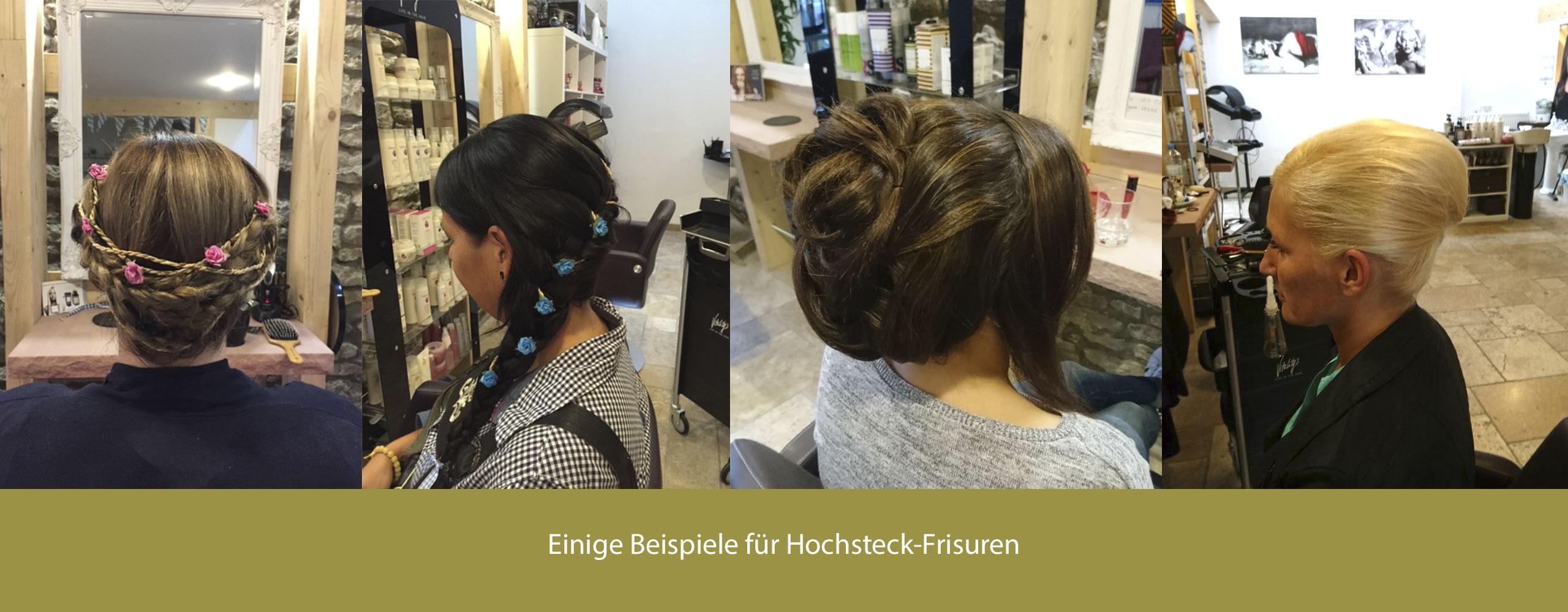 Huchsteckfrisur: Friseur-Salon STYLE IN unterstreicht Deine ...